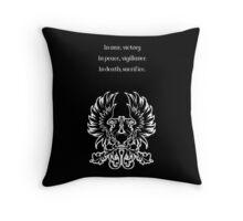 Grey Warden Motto Dragon Age Throw Pillow