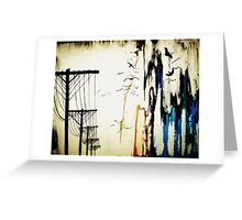 pylons Greeting Card