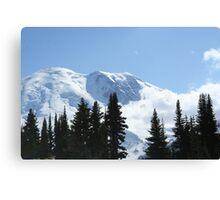 Stunning Mt. Rainier Canvas Print
