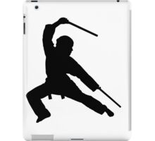 Martial arts fighter iPad Case/Skin