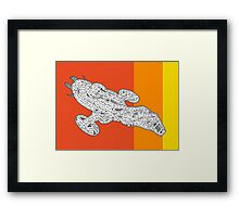 Fall Fire Fly Class Framed Print