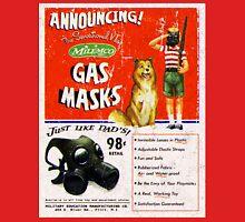 Atomic Ads - MILEMCO Gas Masks Unisex T-Shirt