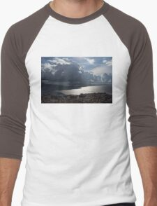 Shadows of Clouds  Men's Baseball ¾ T-Shirt