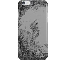 Edgy Grey iPhone Case/Skin