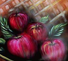 Apple Basket by Sherry Arthur