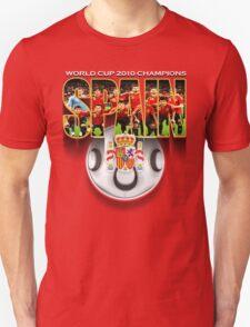 spain! champions Unisex T-Shirt