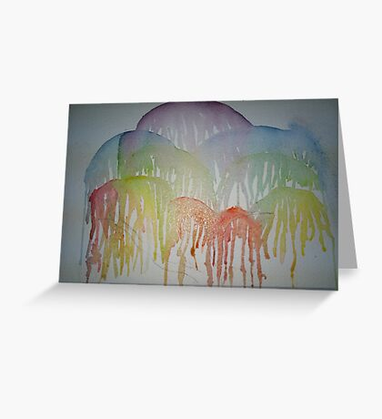 Weeping Willow 2  Greeting Card