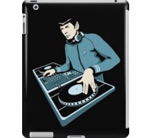 Cool Spock DJ party iPad Case/Skin