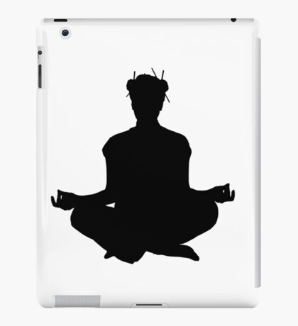 Yoga meditation iPad Case/Skin