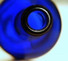 blue bottle by henuly1