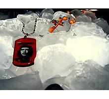 che on ice.. Photographic Print