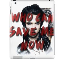 Andy Biersack - Who Can Save Me Now ? iPad Case/Skin