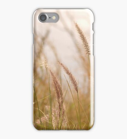 Simply Grass © Vicki Ferrari Photography iPhone Case/Skin