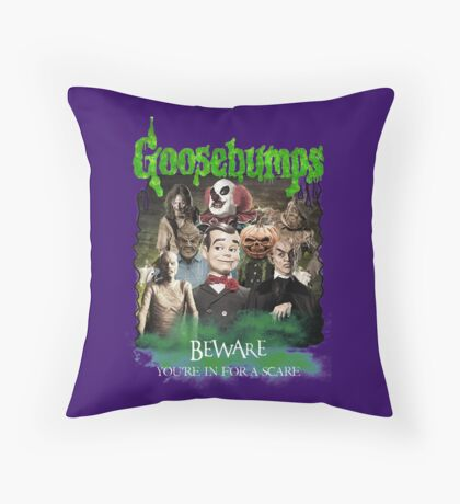 Goosebumps v.2 Throw Pillow