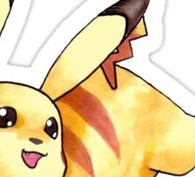 Leaping Pika Sticker