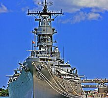 USS Missouri BB-63 by Turtle6