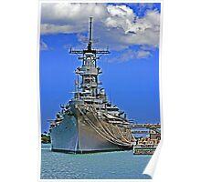 USS Missouri BB-63 Poster