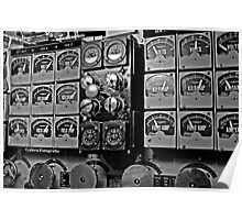 Battery Gauge Cluster Poster
