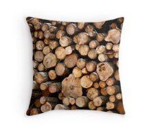 Lumber Throw Pillow