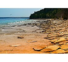Rocky Shore Photographic Print