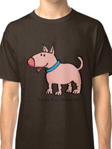 Pink Dog Classic T-Shirt