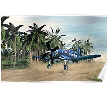 Vought F4u Corsair Poster