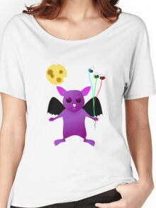 Flying Batty Women's Relaxed Fit T-Shirt