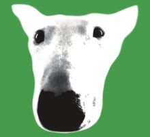 Bull Terrier Face Tee Kids Clothes