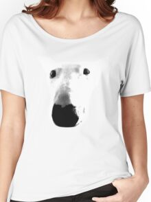 Bull Terrier Face Tee Women's Relaxed Fit T-Shirt