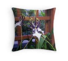 Orchid  Ability Throw Pillow