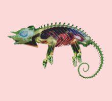 Lizard Thing One Piece - Short Sleeve