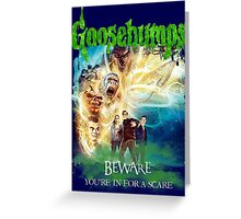 Goosebumps The Movie Greeting Card