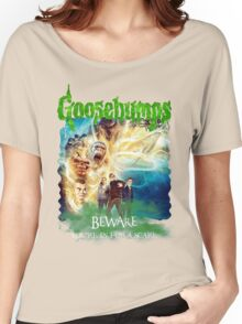 Goosebumps The Movie Women's Relaxed Fit T-Shirt