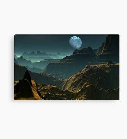 The Canyons of my Mind Canvas Print