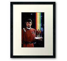 Star Trek Alternate Universes Framed Print