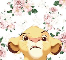 floral simba by iheartcory