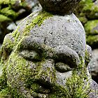 Buddha's Peaceful Disciple at Otagi Nembutsuji by nekineko