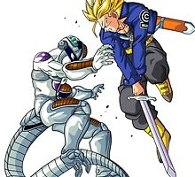 Trunks vs Freezer by razor93