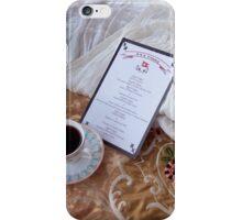 Breakfast on the Titanic iPhone Case/Skin