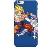 Goku vs Freezer iPhone Case/Skin