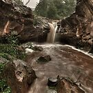 Upper Rusty Falls  by Dennis Jones - CameraView