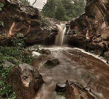 Upper Rusty Falls  by Dennis Jones - CameraView
