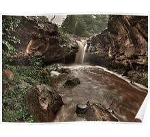 Upper Rusty Falls  Poster