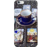 Tarot reading and tea iPhone Case/Skin