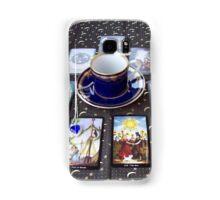 Tarot reading and tea Samsung Galaxy Case/Skin