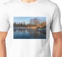 Still and Early - Icy Reflections With a Touch of Snow Unisex T-Shirt