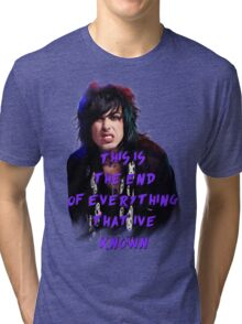 Ronnie Radke - This is the end Tri-blend T-Shirt