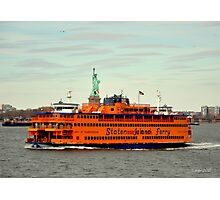 staten island ferry  Photographic Print