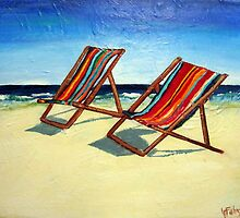 More Beach Chairs  by gillsart