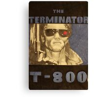 THE TERMINATOR - LARGE FORMAT  Canvas Print